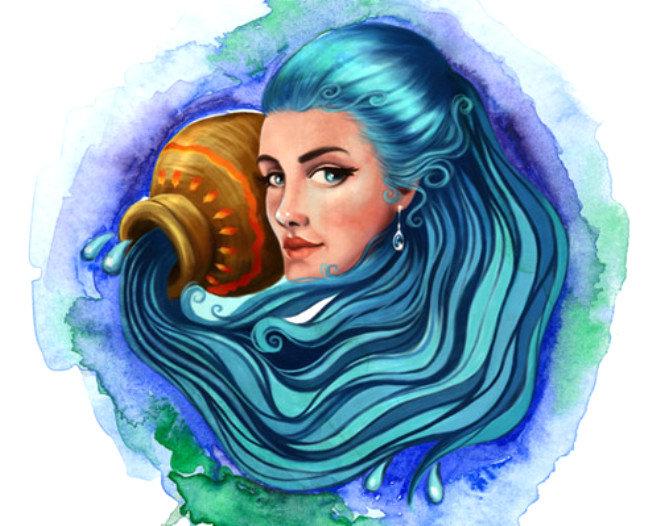 водолей женщина